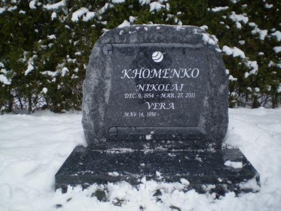 Могила Николая Хоменко